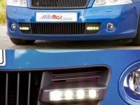 Φώτα ημέρας Skoda Octavia II RS