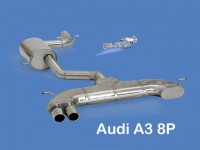 Stainless Steel Sport Exhaust system