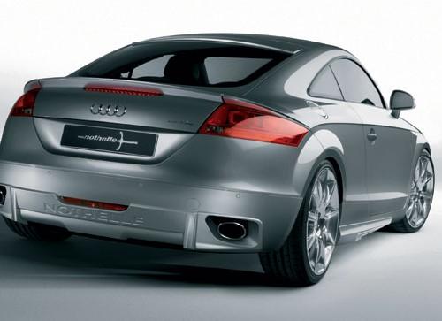 Πίσω ποδιά Audi TT